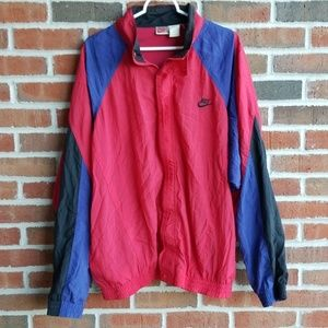 Vintage Nike Color Blocking Windbreaker Jacket